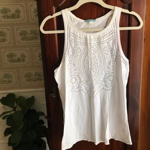 Anthropologie Leifnotes top - fits like small